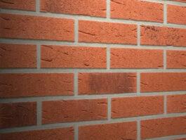 Клинкерная фасадная плитка Feldhaus Klinker R488 Terreno rustico carbo