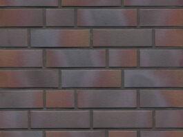 Клинкерная фасадная плитка Feldhaus Klinker R386 cerasi maritim negro