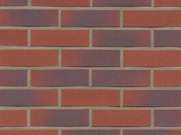 Фасадные термопанели с клинкерной плиткой Feldhaus Klinker R356 Carmesi antic liso