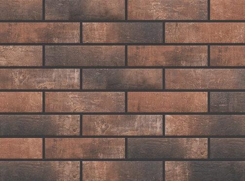 Фасадные термопанели с клинкерной плиткой Loft Brick Chili