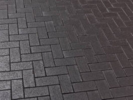 Тротуарная клинкерная брусчатка Feldhaus Klinker P609 KDF umbra ferrum