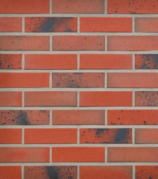 Клинкерная фасадная плитка под кирпич Roben Taunus schmelz-bunt