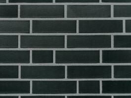 Клинкерная фасадная плитка под кирпич Roben Faro schwarz-nuanciert NF, 240*14*71 мм