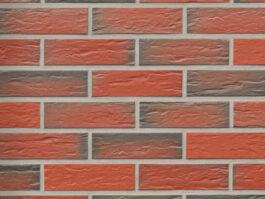 Клинкерная фасадная плитка под кирпич Roben Rhön bunt, 240*9*71 мм