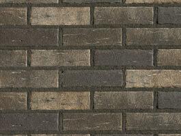 Клинкерная фасадная плитка под кирпич Roben Aarhus-Silberschwarz, 240*14*71 мм