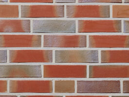 Облицовочная плитка под кирпич ручной формовки Roben Greetsiel friesisch-bunt glatt NF, 240*14*71 мм