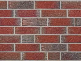Облицовочная плитка под кирпич ручной формовки Roben Greetsiel friesisch-bunt genarbt/besandet DF, 240*14*52 мм