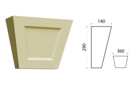 Замковый камень ZK-06