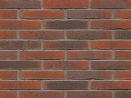 Клинкерная плитка Feldhaus Klinker ригель формата vascu carmesi flores R743LDF
