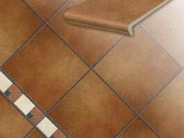 Клинкерная напольная плитка Stroeher Roccia 841 rosso