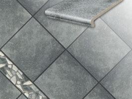 Клинкерная напольная плитка Stroeher Roccia 840 grigio