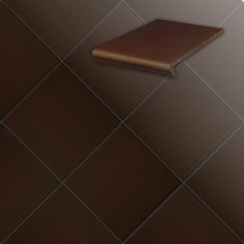 Клинкерная напольная плитка Stroeher Terra 210 braun
