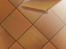 Клинкерная напольная плитка Stroeher Terra 307 weizengelb