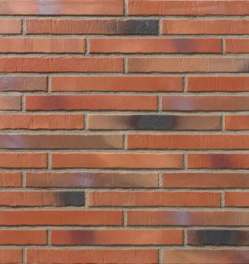 Клинкерная фасадная плитка под кирпич Stroeher Glanzstueck N2