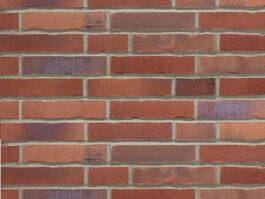 Клинкерная фасадная плитка под кирпич Stroeher Handstrich 392 rotrost