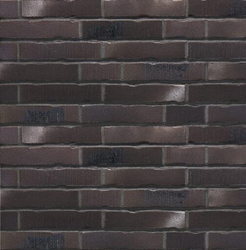 Клинкерная фасадная плитка под кирпич Stroeher Handstrich 394 schwarzkreide