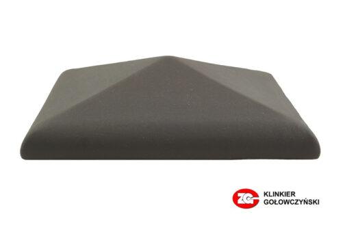 Колпак для забора керамический ZG-Clinker графит