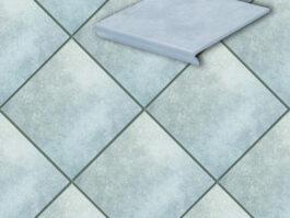 Клинкерная напольная плитка Stroeher Cavar 544-chiaro , 294*294*8 мм