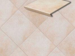 Клинкерная напольная плитка Stroeher Cadra 520-sare, 294*294*8 мм