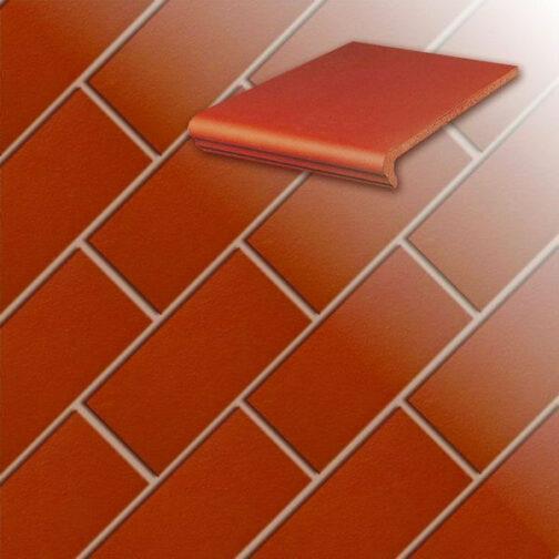 Клинкерная напольная плитка Stroeher Classics 361-naturrot