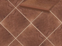 Напольная клинкерная плитка Paradyz Taurus Brown, 300*300*11 мм