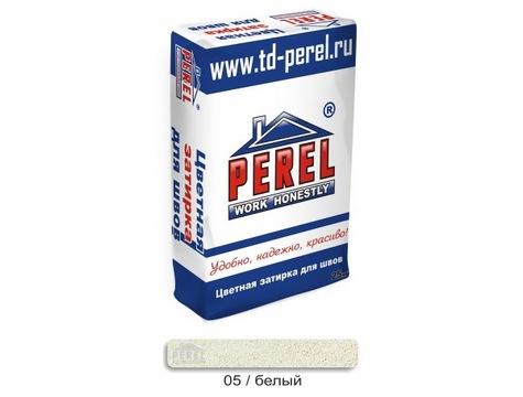 Цветная Затирочная Смесь PEREL RL 0405 белый