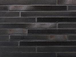 Клинкерная плитка под кирпич ригель формата Stroeher RIEGEL 50 456 schwarz-blau