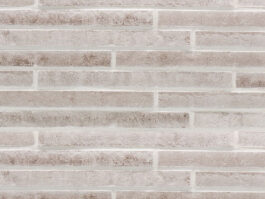 Клинкерная плитка под кирпич ригель формата Stroeher RIEGEL 50 452 silber-grau