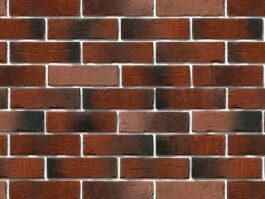 Облицовочный камень под кирпич ручной формовки Сити Брик 375-70
