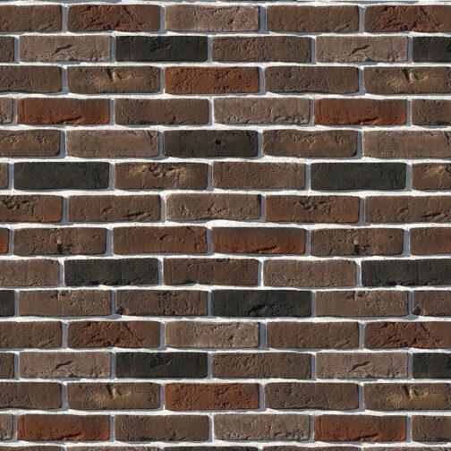 Облицовочный камень под кирпич ручной формовки Лондон Брик 304-60