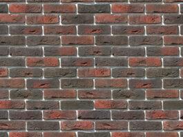 Облицовочный камень под кирпич ручной формовки Лондон Брик 301-40