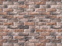 Облицовочный камень под кирпич ручной формовки Брюгге Брик 316-70