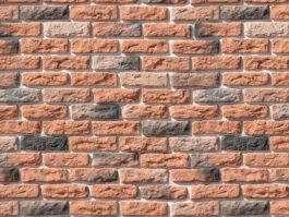 Облицовочный камень под кирпич ручной формовки Брюгге Брик 315-50
