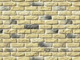 Облицовочный камень под кирпич ручной формовки Брюгге Брик 315-30