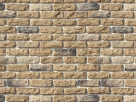 Облицовочный камень под кирпич ручной формовки Брюгге Брик 315-20