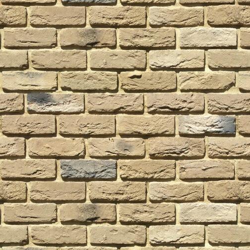 Облицовочный камень под кирпич ручной формовки Бремен Брик 305-20