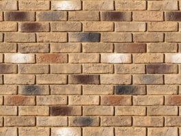 Облицовочный камень под кирпич ручной формовки Кельн Брик 324-40