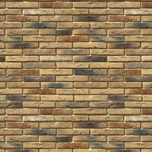 Облицовочный камень под кирпич ручной формовки Остия Брик 380-40