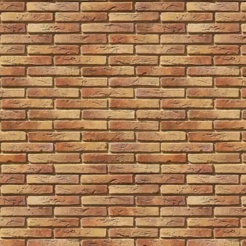 Облицовочный камень под кирпич ручной формовки Остия Брик 380-60