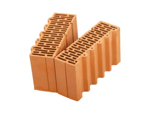 Керамические блоки Porotherm 38 1/2 доборный поризованный 10